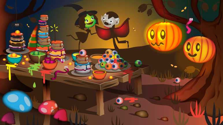Image: Star witch's magical Halloween party
