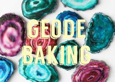 Image: All the other geode baking you can do this weekend