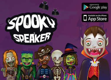 Have some frightful Halloween fun our free Spooky Speaker app