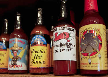 Image: Brits are liking their condiments hot, hot, hot as chilli sales rise