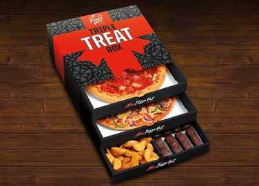 Image: This is HUGE: Pizza Hut triple threat box comes to UK