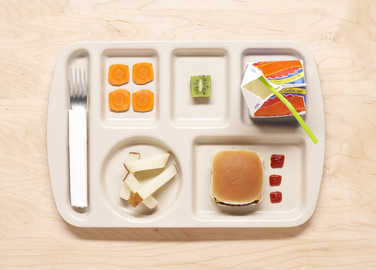 Image: Teen's new app means solo lunches are a thing of the past for school children