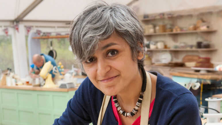 Image: Great British Bake Off: Chetna flakes before the final