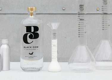 Image: Black cow vodka