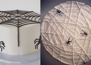 spiderweb-cakes-homemade