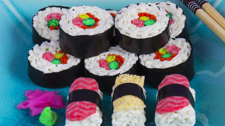 Image: Cakes made of WHAT?  The most mouthwatering dishes you can't eat