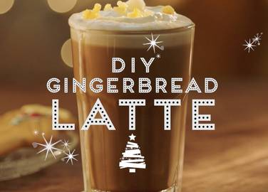 You don't need to wait all year for a Christmas coffee - everyone's favourite syrup is really easy to make at home. 