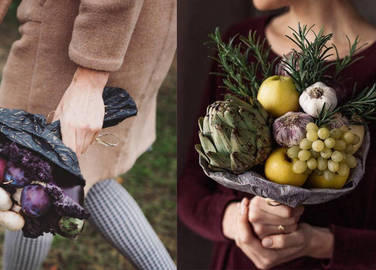 vegetable-bouquets-homemade