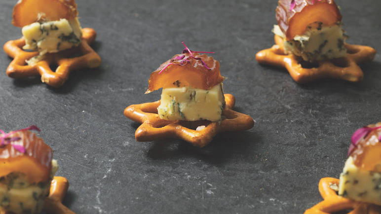 Image: Dishes to wow your Christmas party guests, by team Sainsbury's