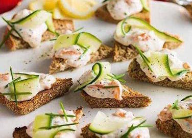 Leftovers canapes
