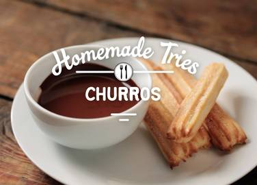 Homemade | Baked Churros