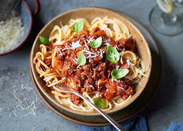 Image: Things you never knew you could make with leftover bolognese