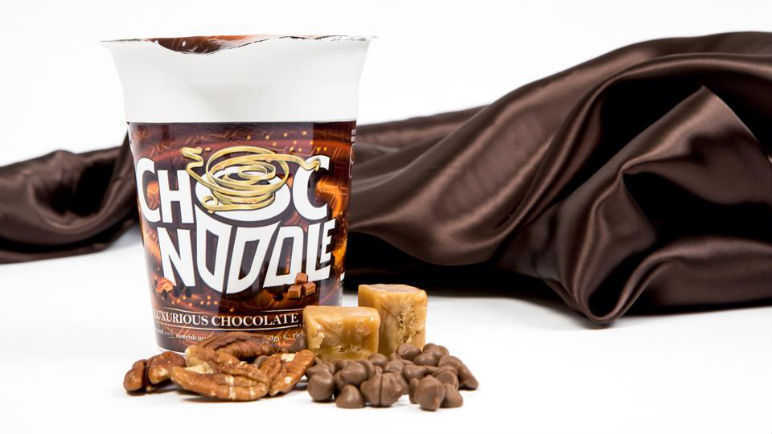 Image: Would YOU try a chocolate pot noodle?