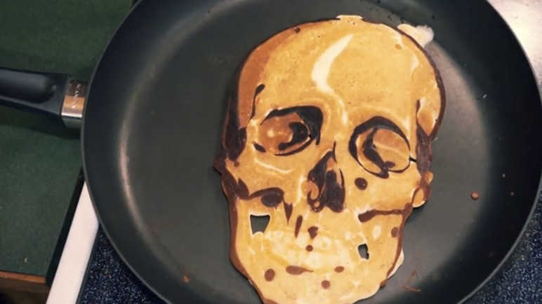 Image: You'll flip out over this dad's pancake creations
