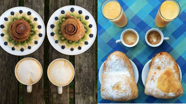 Image: Perfectly symmetrical breakfasts that will soothe your soul