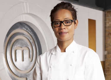 Image: The many faces of MasterChef judge Monica Galetti