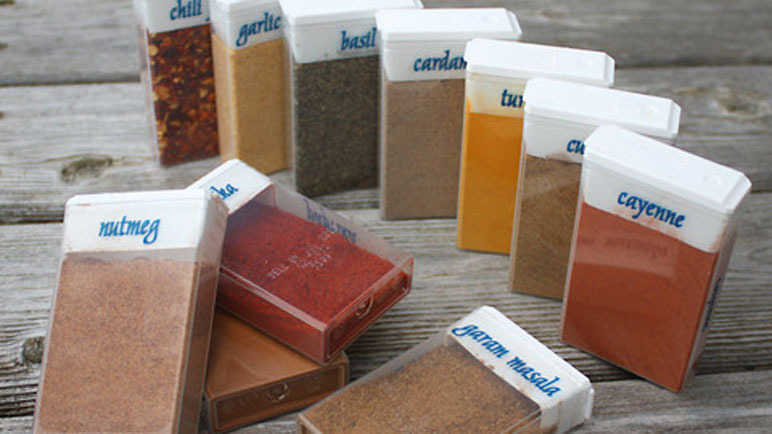 Ways to organise your spices