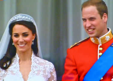 Image: Fancy a slice of Wills and Kate's wedding cake? That will be $7,500