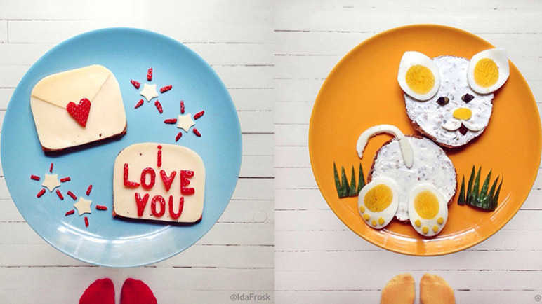 Image: This Norweigan creative makes art that's good enough to eat