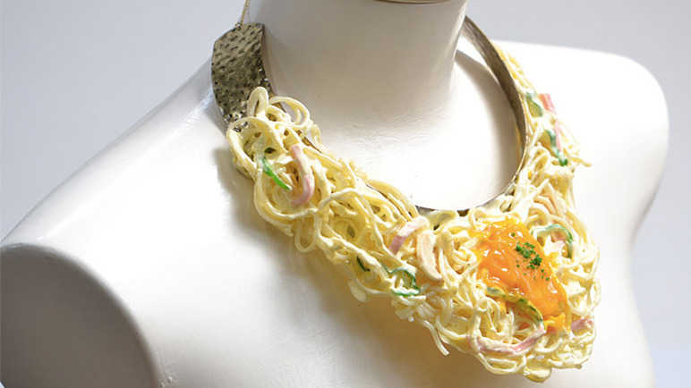Image: Japanese wearable food
