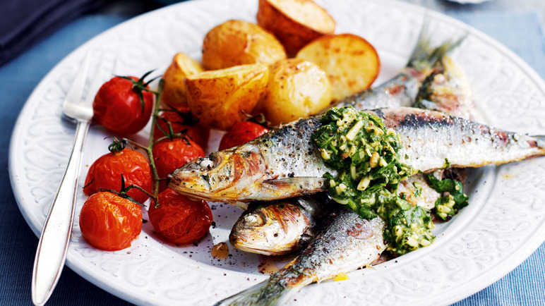Image: 5 fish recipes to sing about