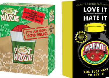 Image: Yes, Marmite and Pot Noodle Easter eggs are going to happen