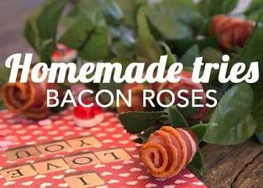 Image: Homemade tries: Bacon