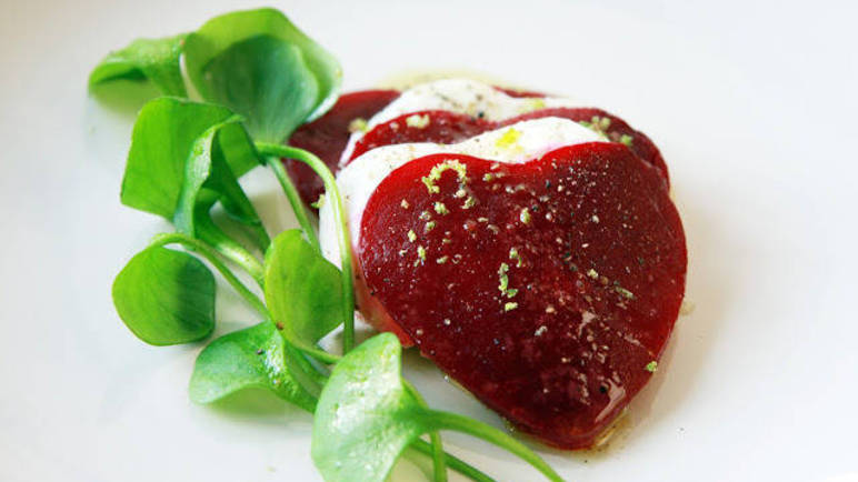 Image: Vegetarian Valentine's dishes (that would make even Cupid proud)