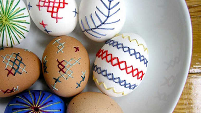Image: 9 egg-ceptional egg decorations