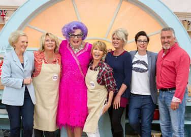 Image: Comic Relief Great British Bake Off kicks off – and it just got funny