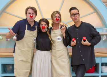 Image: Will the internet be able to cope with the Great Comic Relief Bake Off tonight?
