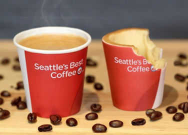 Image: The UK's first edible coffee cup is here
