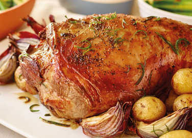Image: Forget everything you've been told, THIS is how to roast lamb