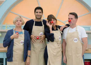 Image: The Great Comic Relief Bake Off is about to get cool