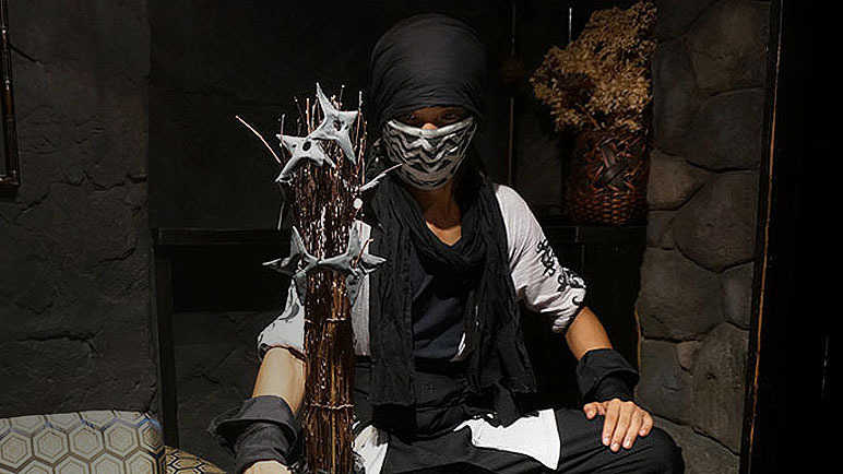 Image: Meanwhile, in Japan... you can now dine at a Ninja Restaurant