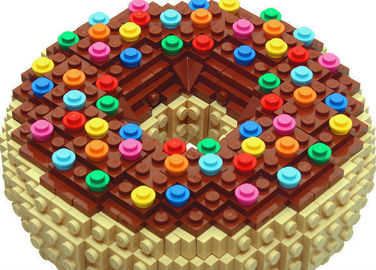 Image: Lego food art is here