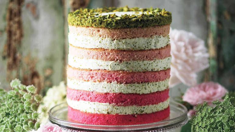Image: In the buff: best-ever naked cakes