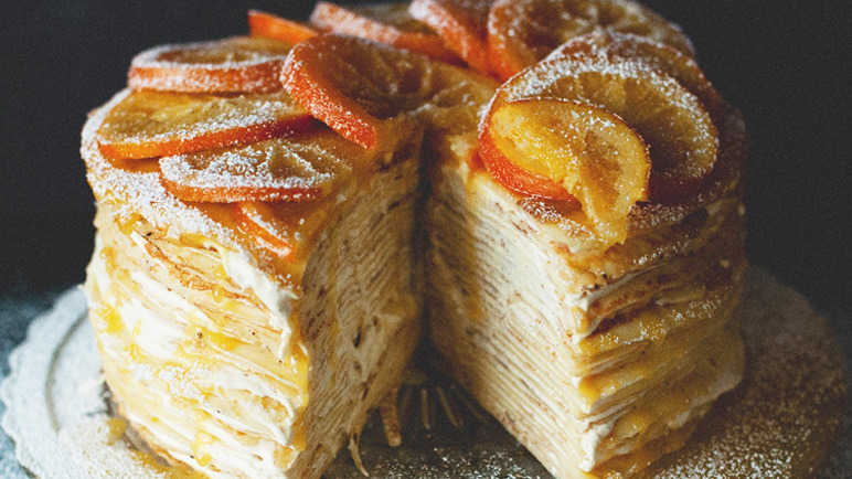 Image: 18 of the most unbelievable crepe cakes for Pancake Day