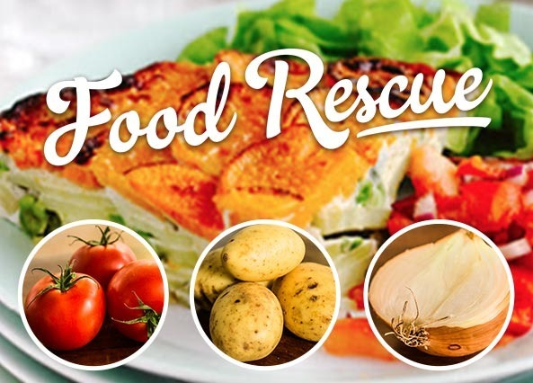Visit our food rescue website