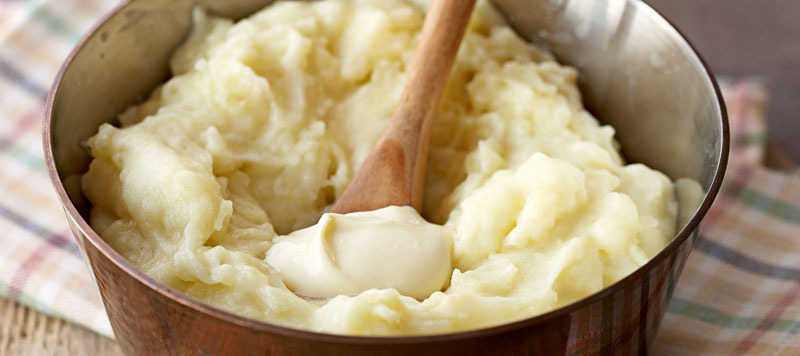 Creamy smooth mash