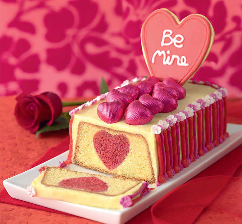 Hide your heart in this cake