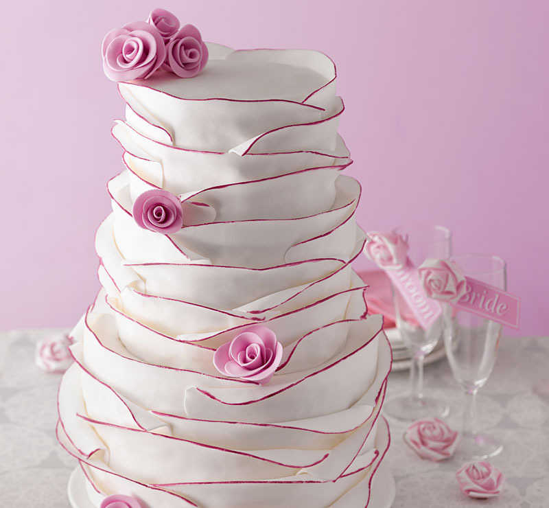 You won't ruffle any feathers with this cake