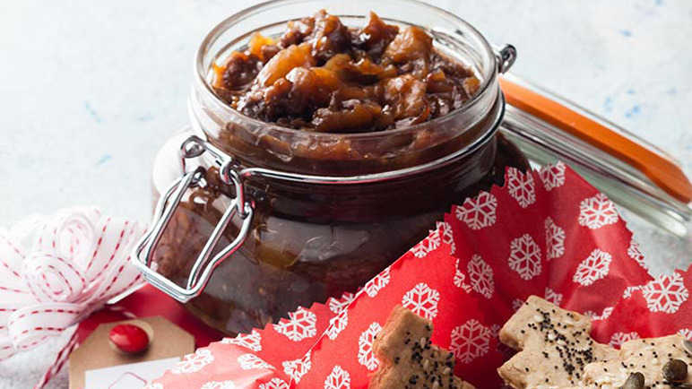 Apple, Prune & Ginger Chutney