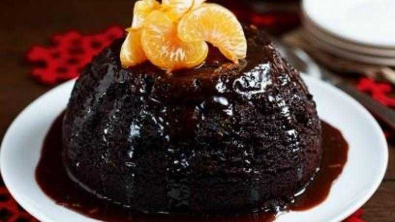 Chocolate and Clementine Pudding