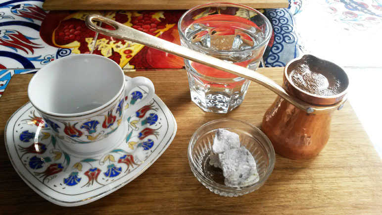 Ozerlat Turkish coffee