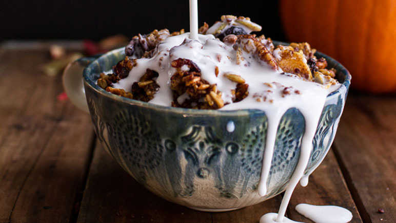 Autumn harvest granola