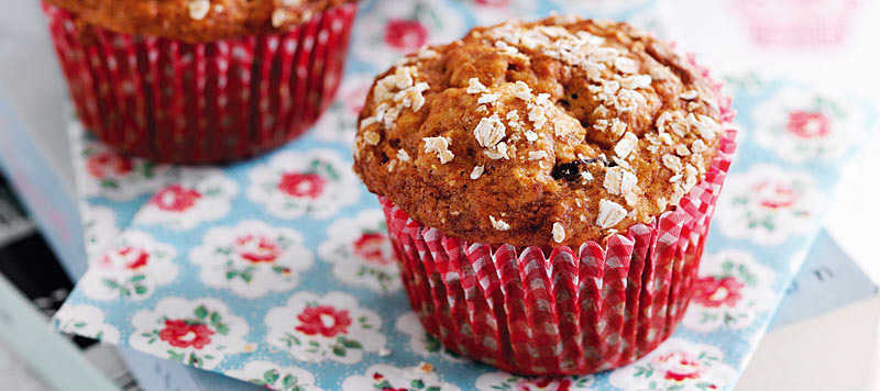 Honey raisin muffins recipe