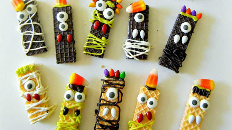 Sugar Wafer Monsters
