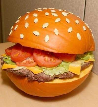 cheese-burger-pumpkin-homemade