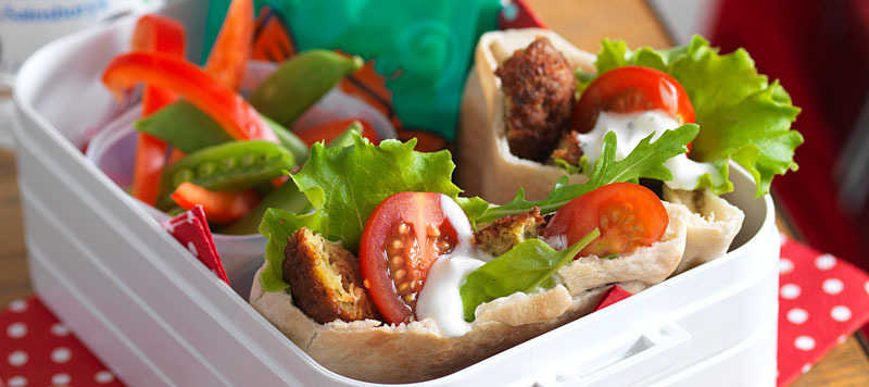 Falafel lunch box